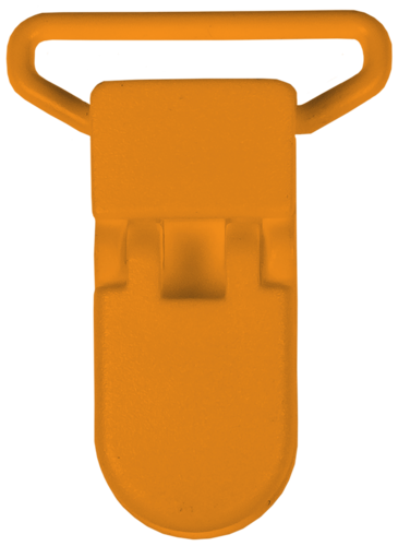 Schnullerclip orange